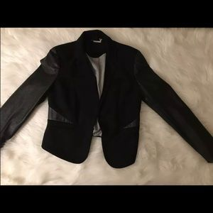 Womens Dress Blazer Jacket Black Size L
